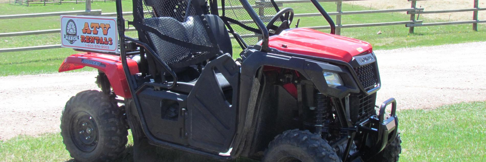 ATV Rentals at High Country Guest Ranch