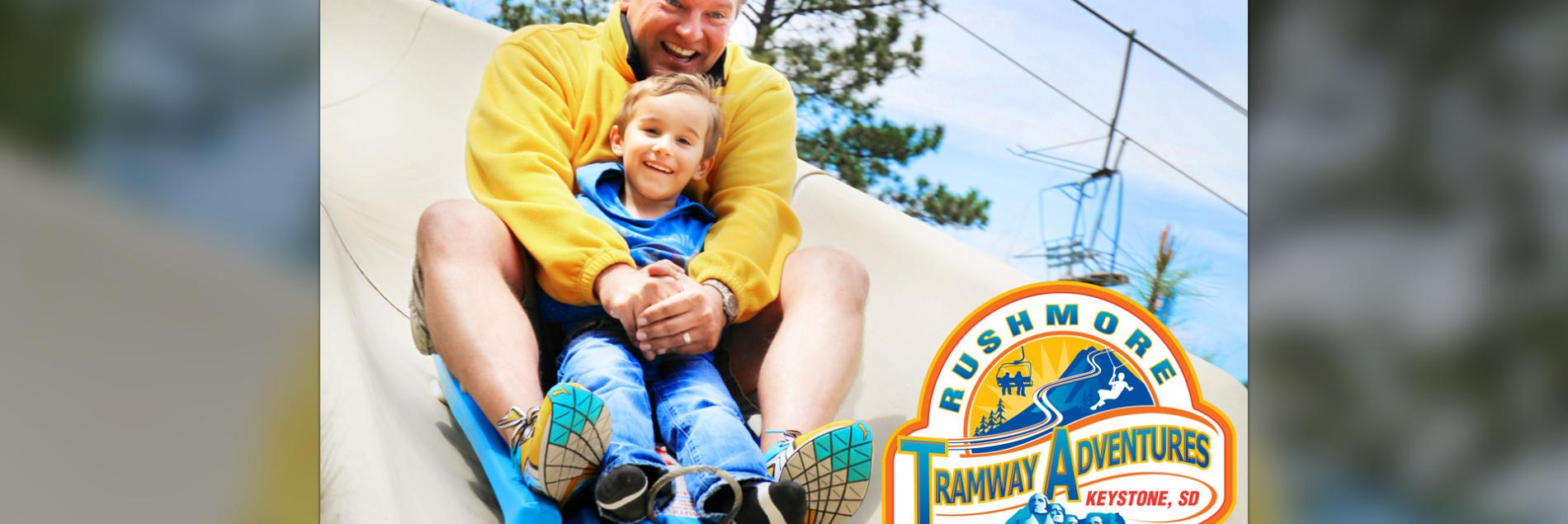 Zipline at Rushmore Tramway Adventures*
