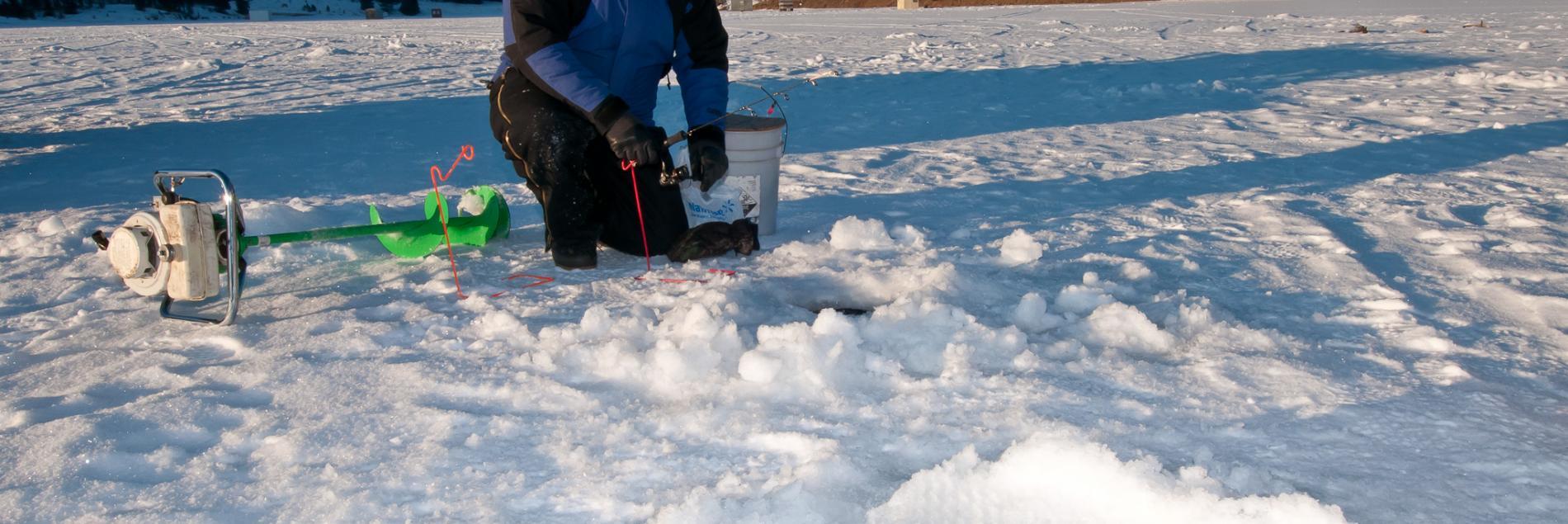 Fishing ice fishing black hills badlands south dakota for South dakota ice fishing guides