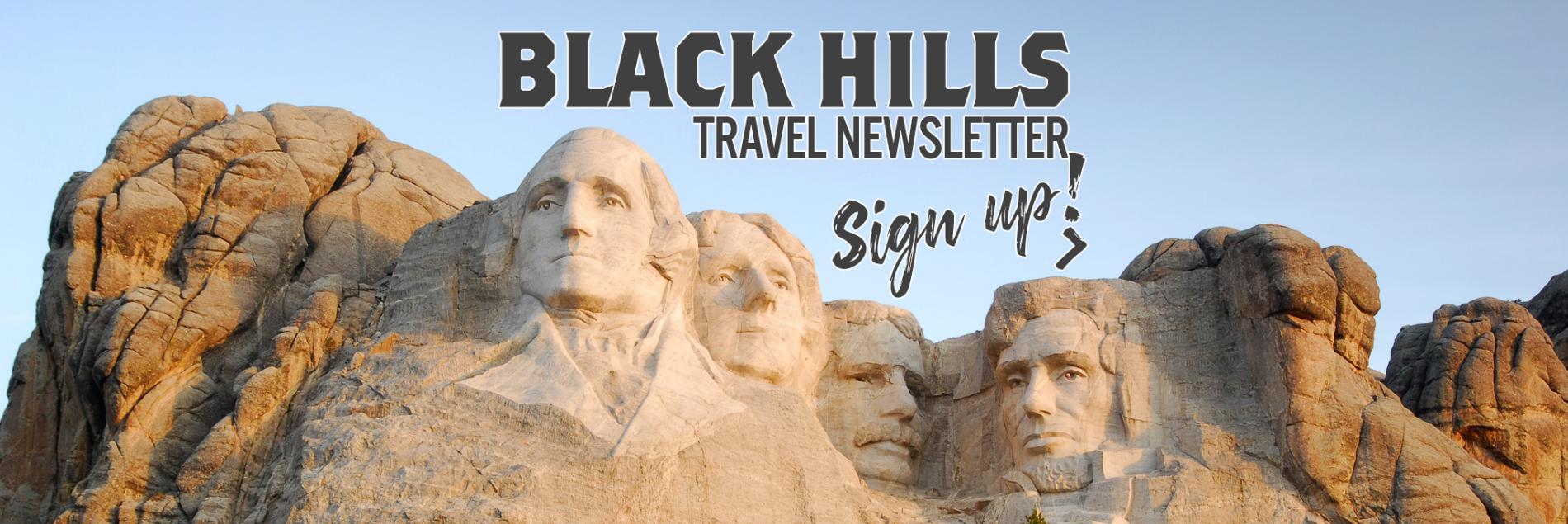 Black Hills Travel Newsletter