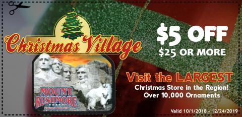 Christmas Village (Coupon)