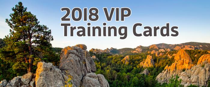 2018 VIP Training Card Program