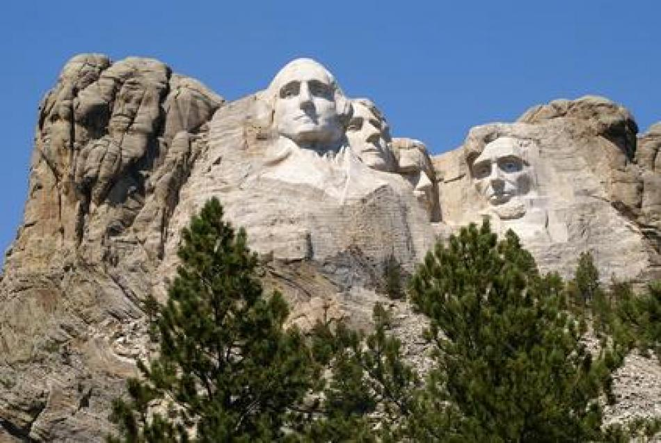 Mount Rushmore Keystone SD