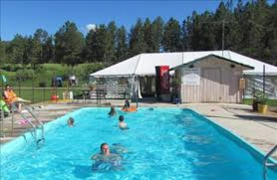 Heated Pool at High Country Guest Ranch