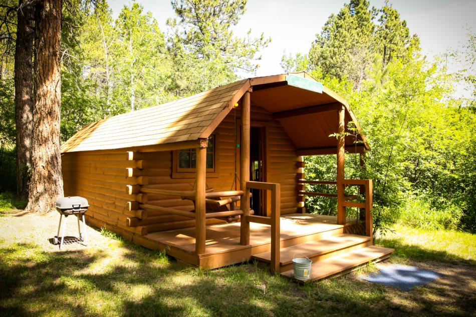 Whispering Pines Campground Cabin