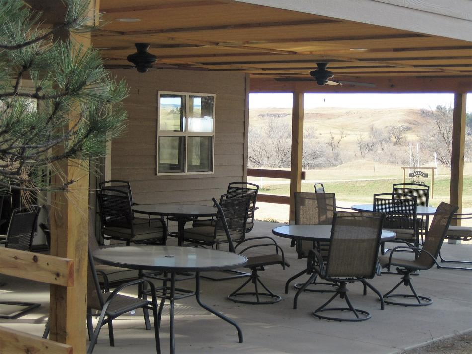Patio at the Gathering Place
