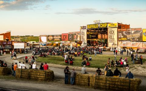 Midweek of the 79th Sturgis Motorcycle Rally