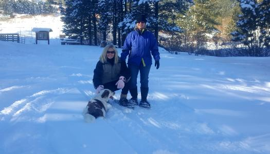 Snowshoeing is a Wonderful Way to Lift Your Spirits