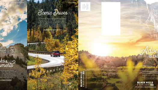 Fall Direct-Mail Co-op Inspires Potential Visitors with Stunning Visuals