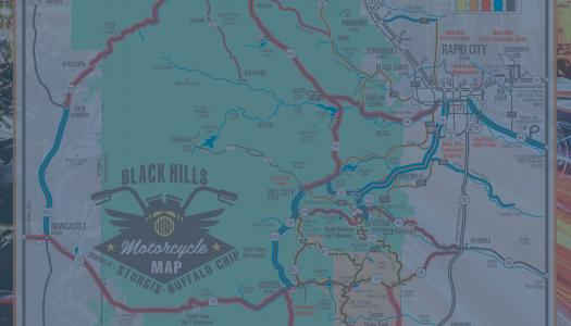 Last Chance: Motorcycle Map and Tasting Trail Map