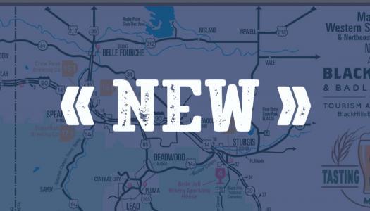 New: Black Hills & Badlands Tasting Trail Map