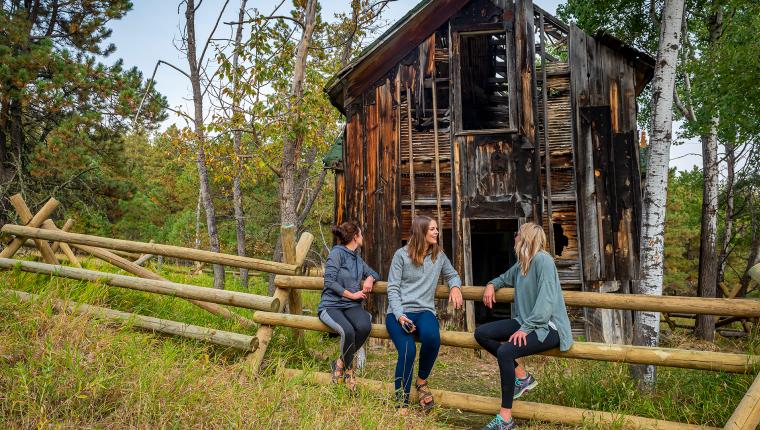Finding Black Hills Ghost Towns — Spokane, SD