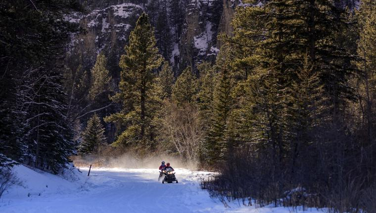 Black Hills. White Gold. Sledding Breathtaking Spearfish Canyon puts more Magic in Winter