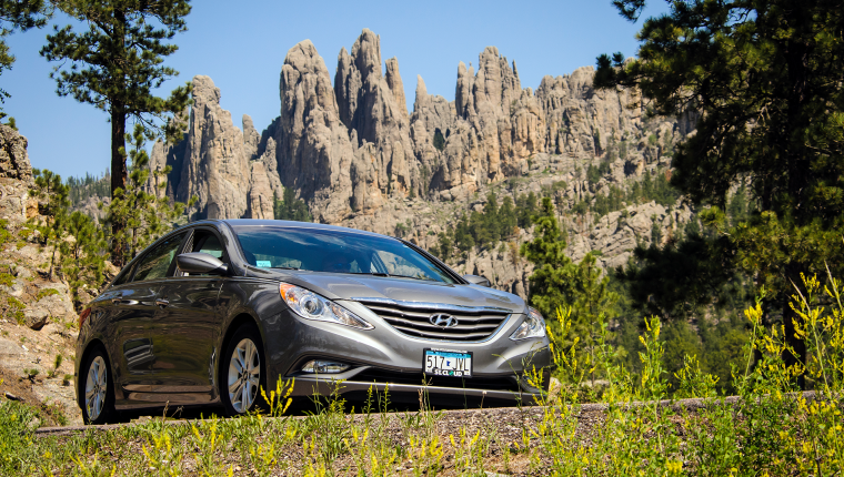 """""""One of the Most Outstanding Drives in America""""—Cruising the Iconic Needles Highway"""
