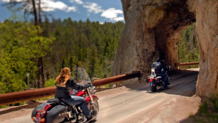Black Hills Best Motorcycle Rides Itinerary