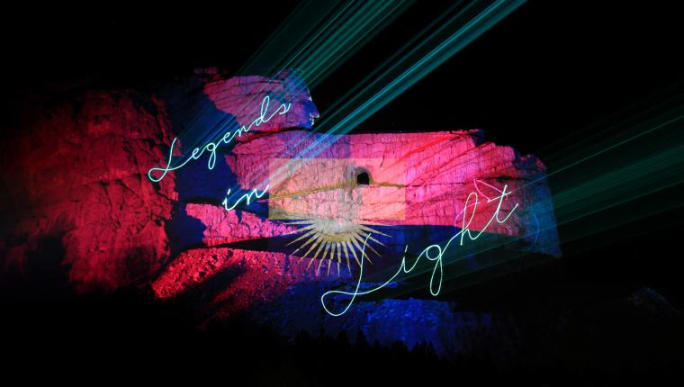 Legends in Light | Crazy Horse Memorial