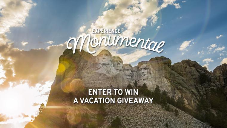 Monumental Vacation Giveaway