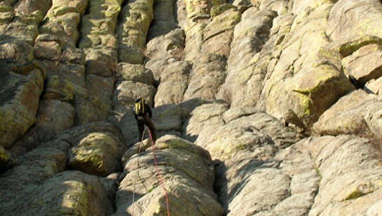 Rock Climbing at Devils Tower