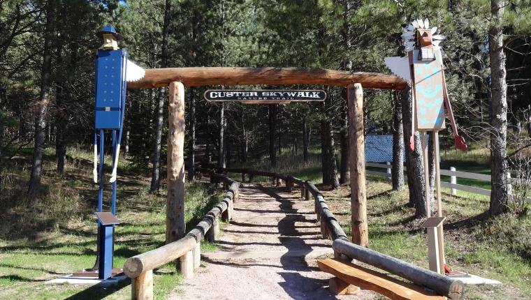 Custer Skywalk Trail