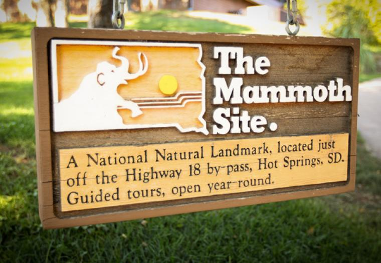 Grandma's First Time at the Mammoth Site