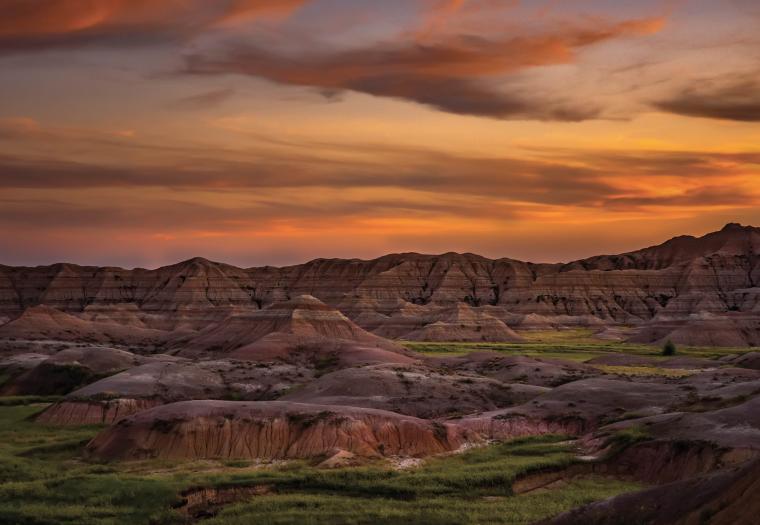 Sunset, Badlands National Park