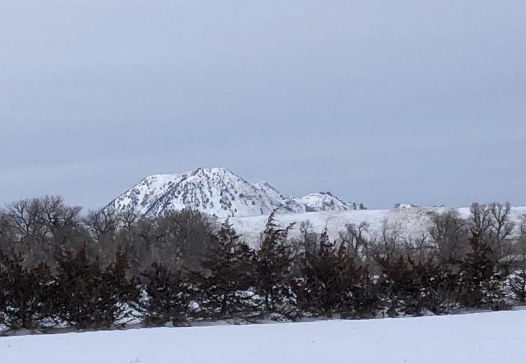 Snowy Bear Butte