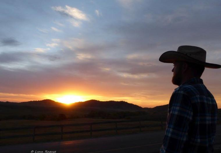 Sunrise at the Buffalo Roundup in Custer State Park