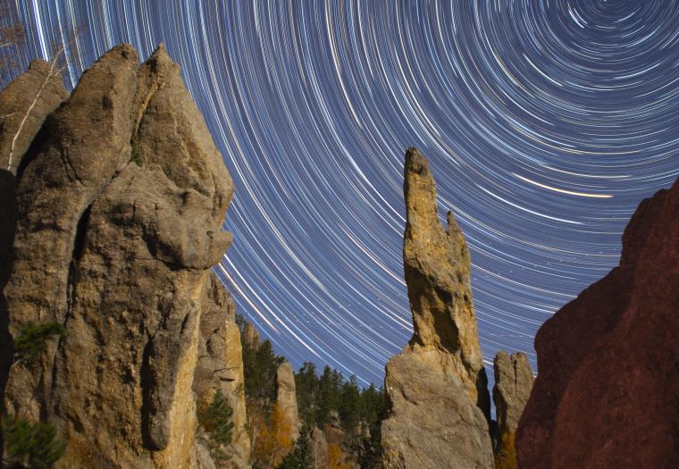 Stars Over Needles Highway