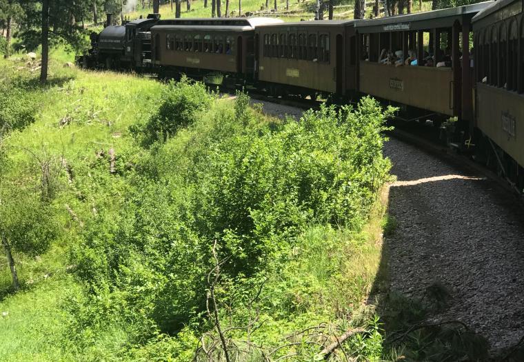 Riding the Rails through the Hills