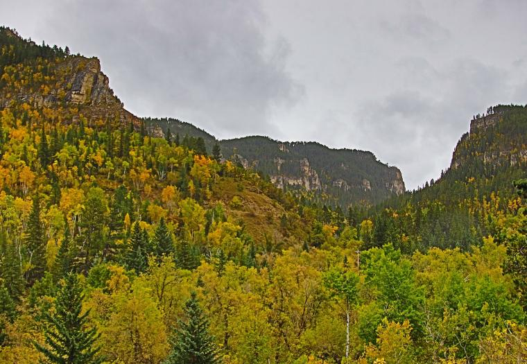 Spearfish Canyon Colors