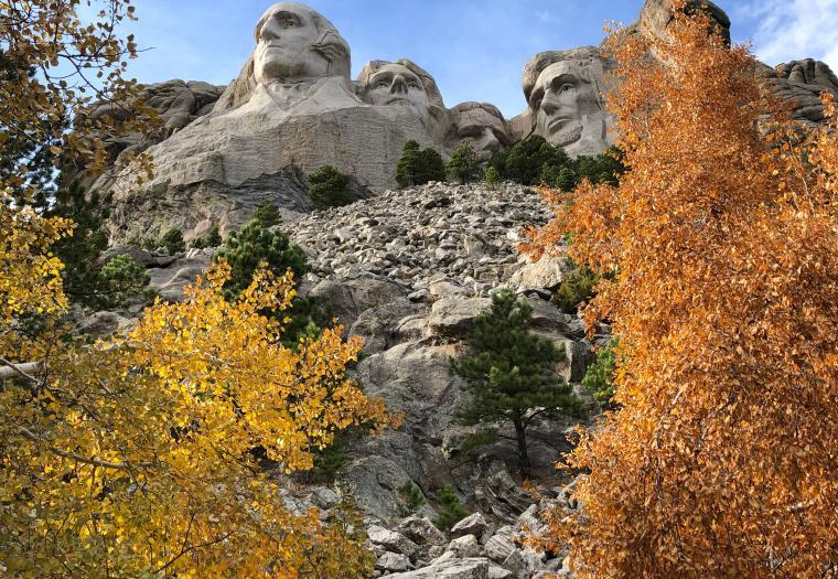 Fall at Mt. Rushmore