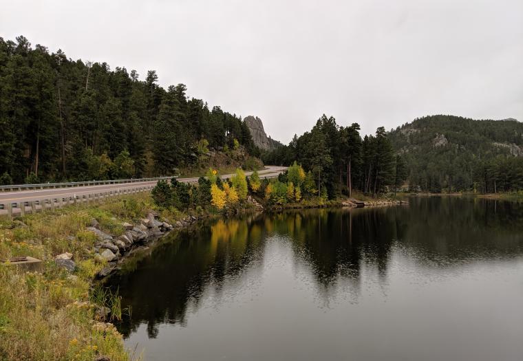 Autumn at Horse Thief Lake
