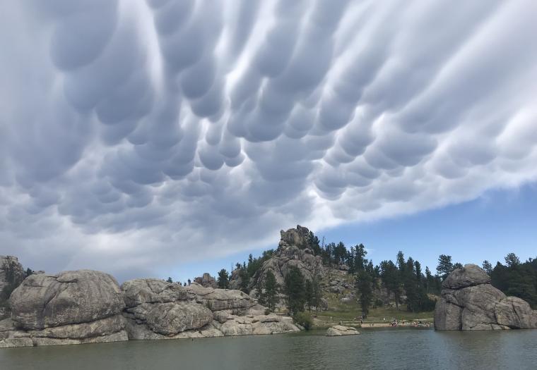 Sylvan Lake Cloud Cover