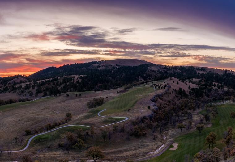 Sunrise over Elkhorn Peak