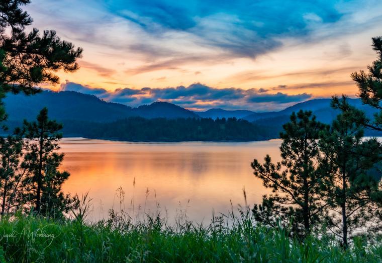 Lake Pactola Sunset