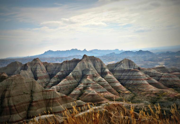 Badlands Topography