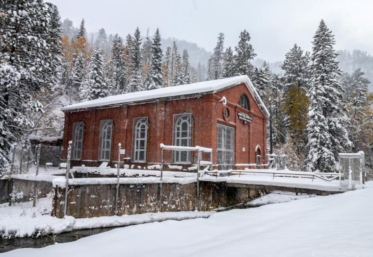 Hydro Electric Plant in Spearfish Canyon