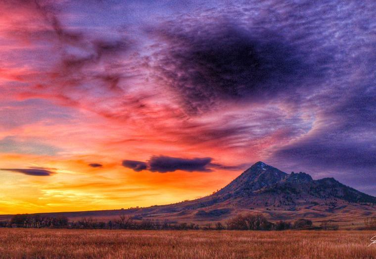 Sacred Mountain Sunset