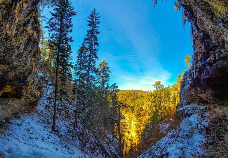 Winter's Splendor Begins