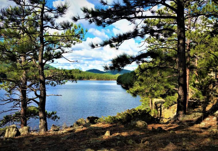 The beauty of Sheridan Lake
