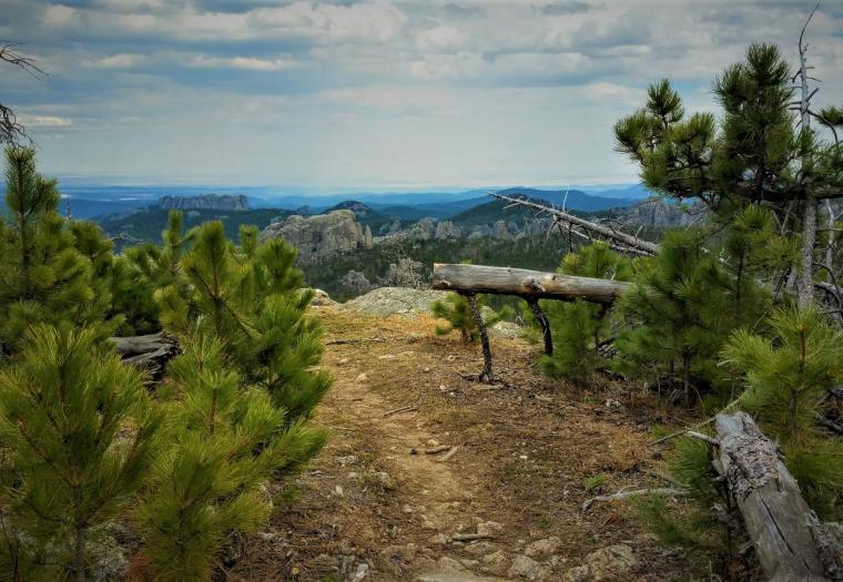 Trail 9 to Black Elk