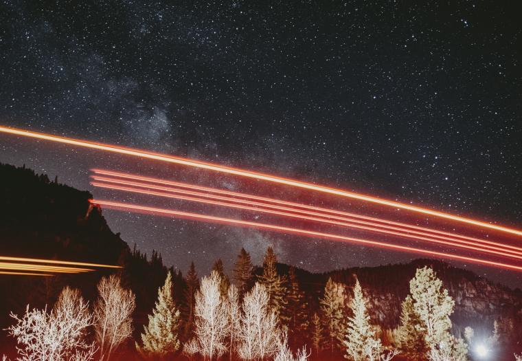 Intergalactic Light show